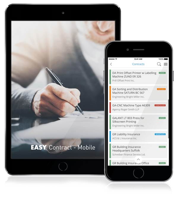 Mobile Digital Contract Management