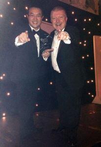 Tony & Howard with the DM Award 2014