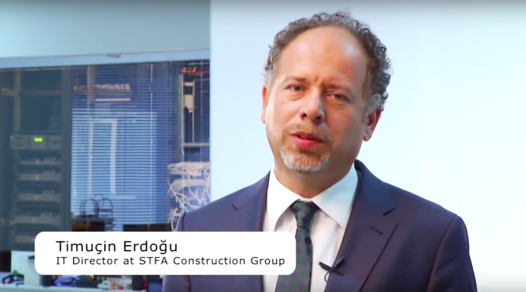 Timucin Erdogu, the IT Director at STFA Construction Group talks to EASY SOFTWARE UK