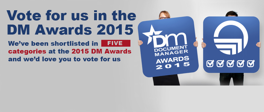 Vote for EASY SOFTWARE UK at the DM Awards 2015