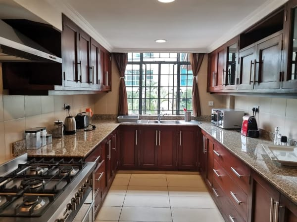 3 Bedroom Furnished and serviced Duplex