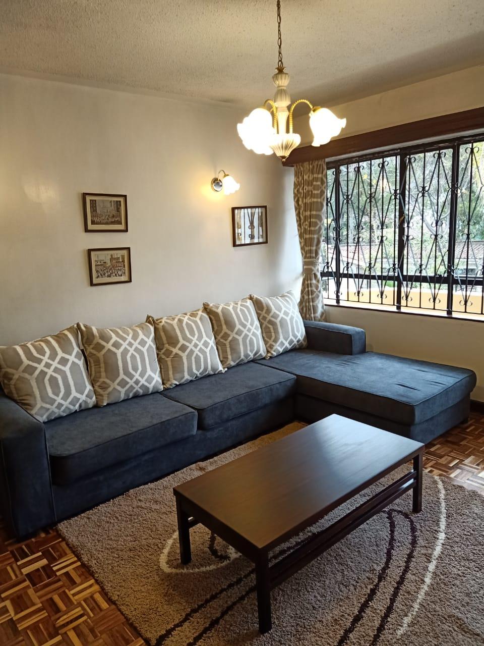 3 Bedroom Furnished apartment in Westlands