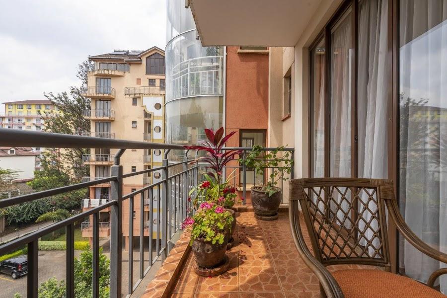 Furnished 3 Bedroom Apartment in Kilimani