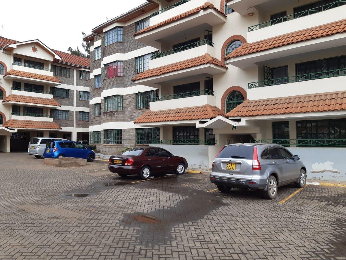 Unfurnished 3 Bedroom Apartment in Kilimani