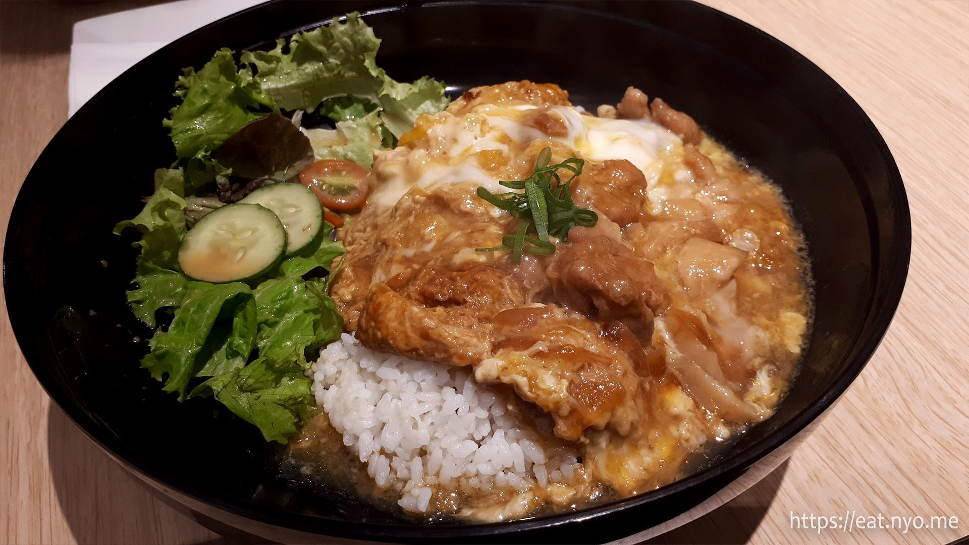 Exquisite Oyakodon