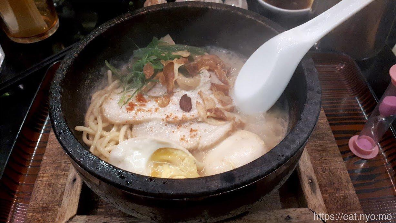 Sizzling Garlic Miso Ramen