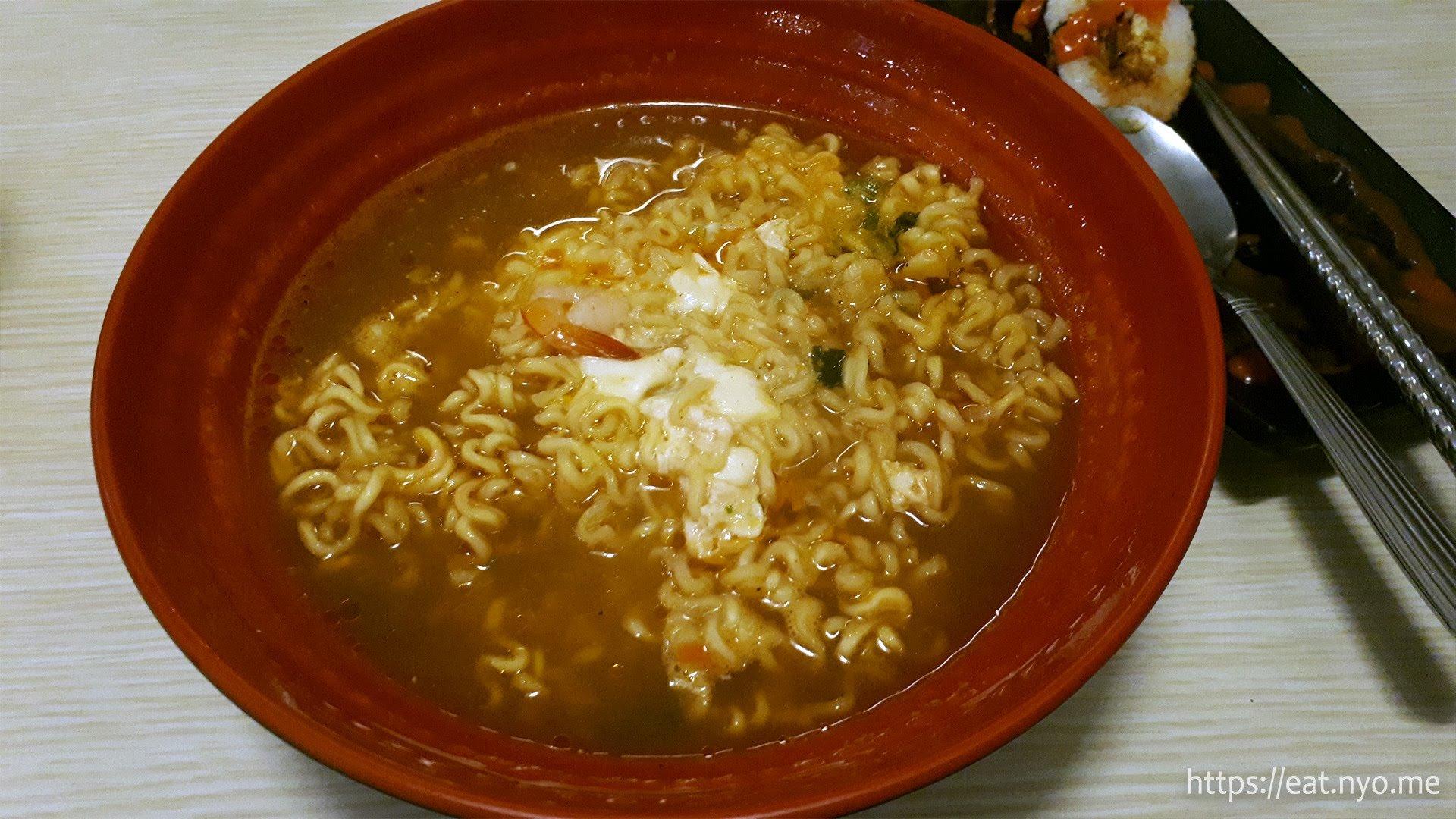 Seafood Ramyun
