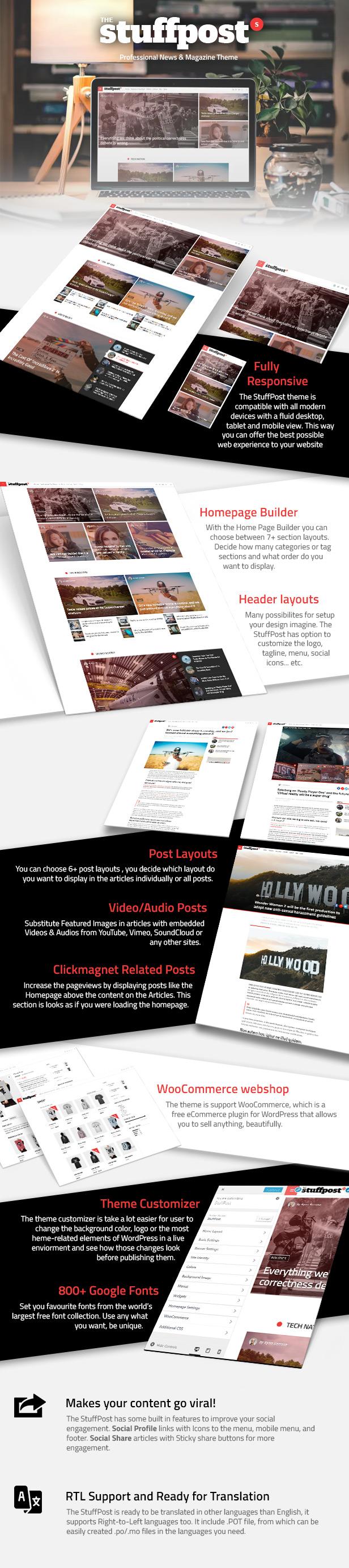 StuffPost - Professional News & Magazine WordPress Theme - 3
