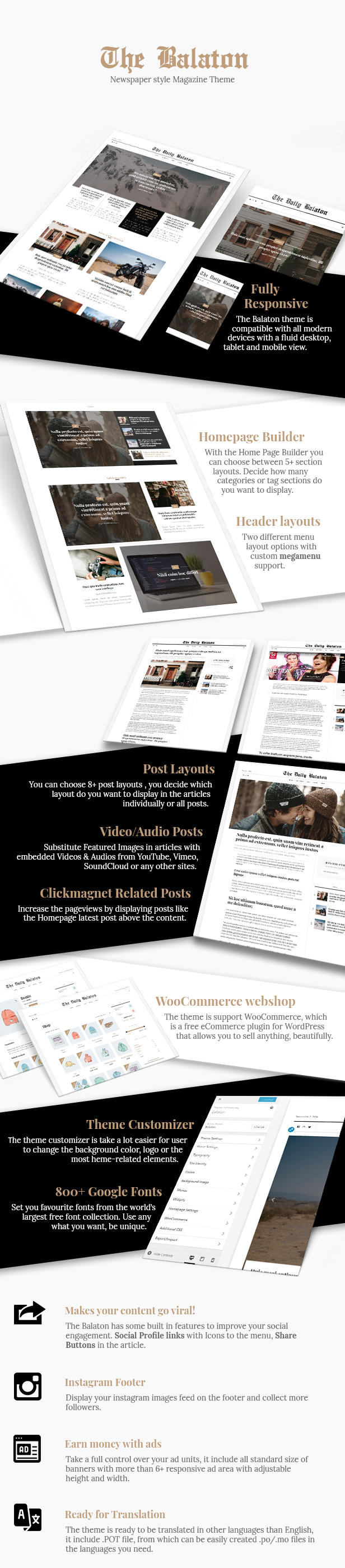 Balaton -  Newspaper style Magazine WordPress Theme - 3