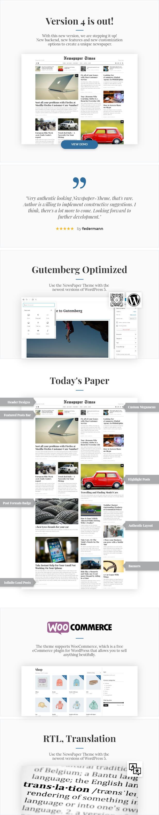 NewsPaper - News & Magazine WordPress Theme - 1