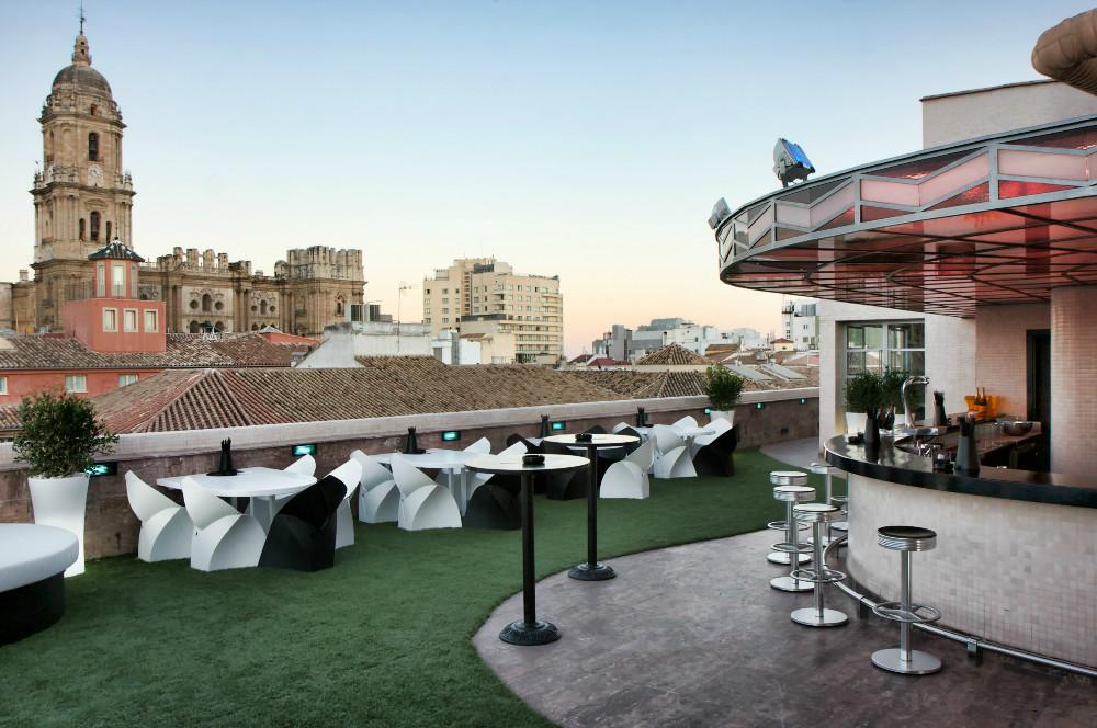 Best Rooftop Bars In Málaga