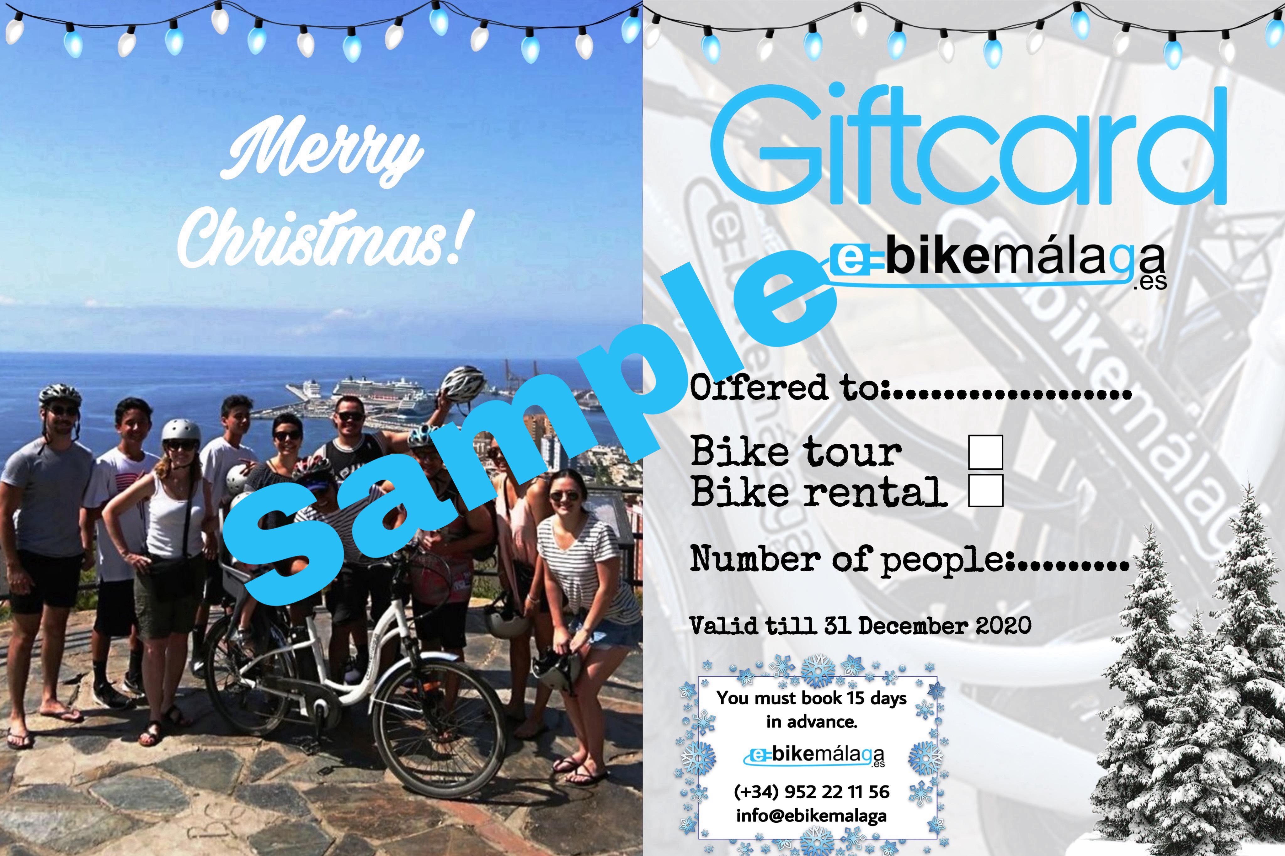 foto de bicicletas eléctricas en Malaga