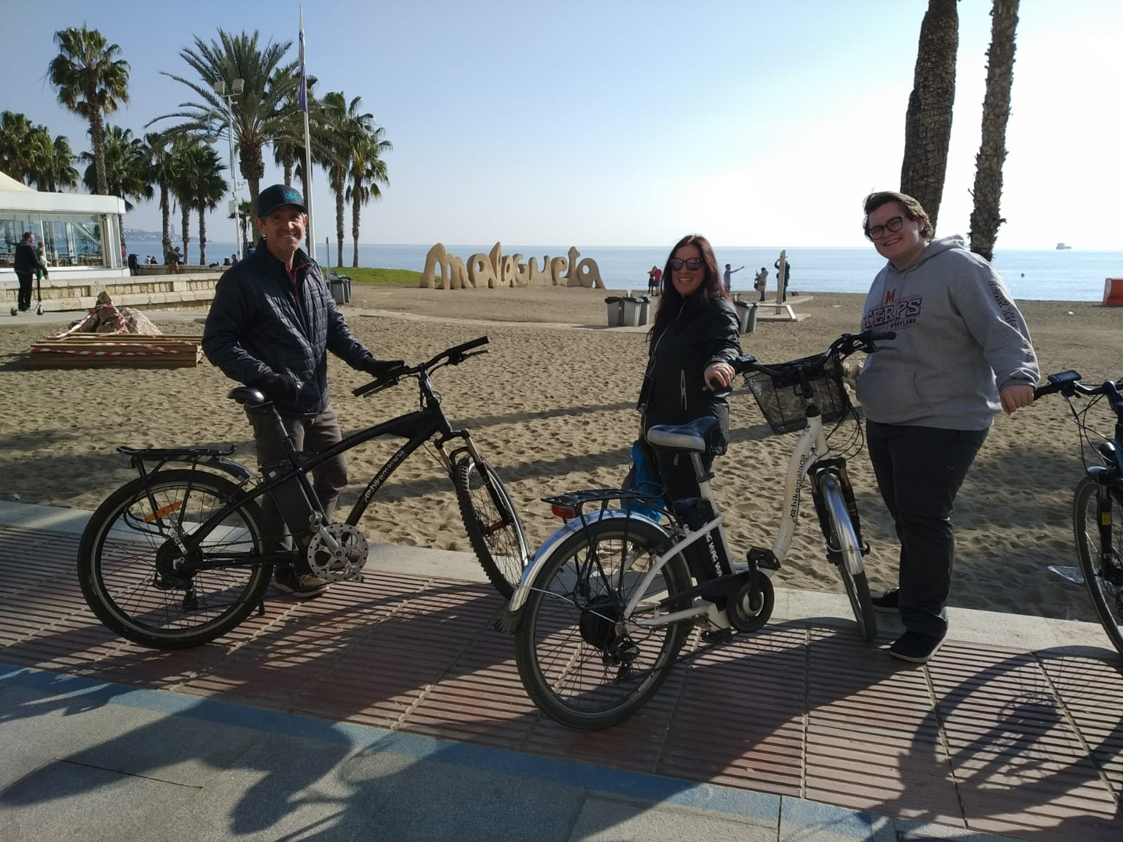 Picture of your electric bikes tours in Malaga