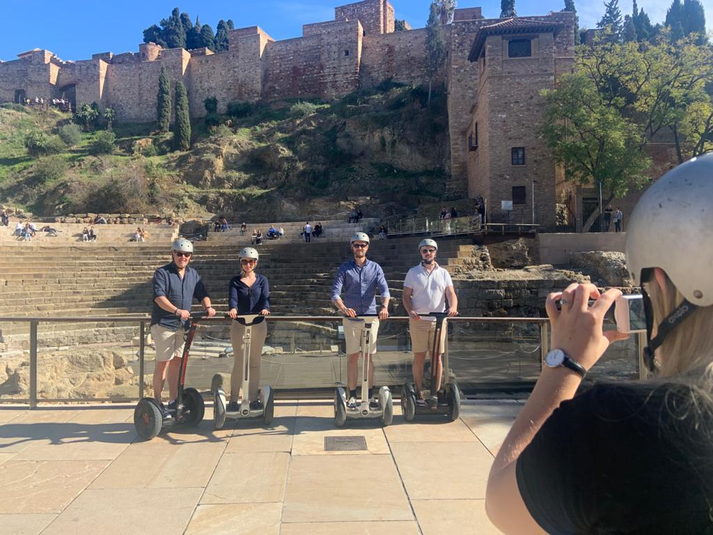 Picture of segway and e-bike tours in Malaga