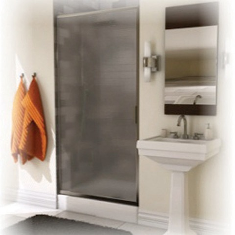Pivolok 32 Quot Pivot Shower Door W Raindrop Glass By Maax