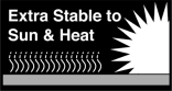 Extra Stable to Sun and Heat Icon
