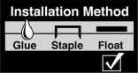 Floating Floor Installation Icon