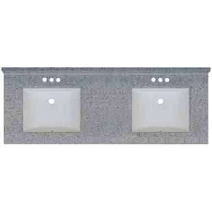5020720 Moonscape 61x22 Engineered Stone Granite Finish Vanity Top