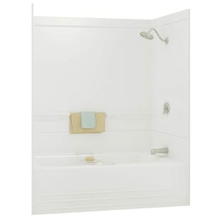 "Maax Monaco 60"" White Tub/Shower with right-side drain"