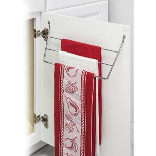 5049015 Dish Cloth Cabinet Storage Rack Polished Chrome