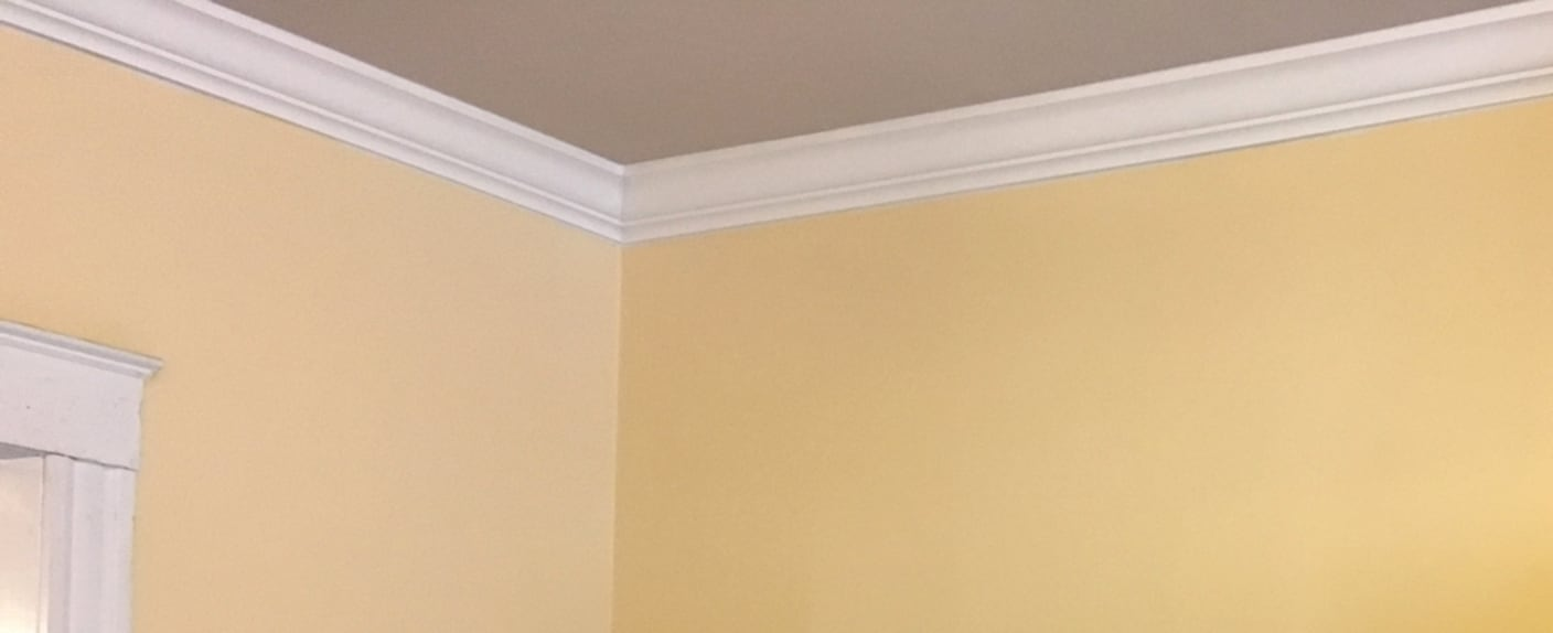 One Weekend Project Idea Crown Molding
