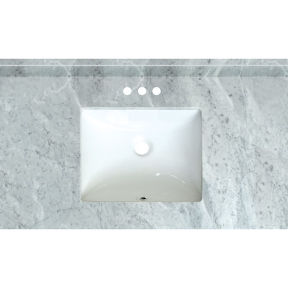 5020724 Carrara Marble 37x 22  Natural Marble Vanity Top