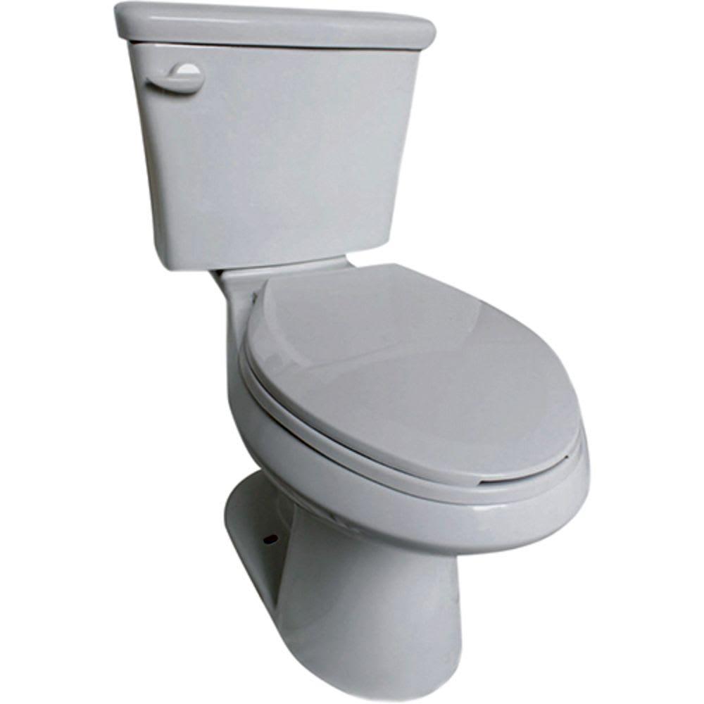 Freeport White Elongated Toilet Bowl