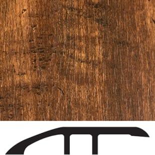 5556025 Luxury Vinyl Floor Reducer Molding   Smoked Hickory