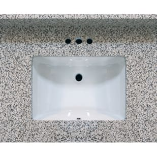5020485 31x22 Pebble Beach Granite Vanity Top with Square Bowl