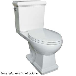 Rio II White Elongated Toilet Bowl