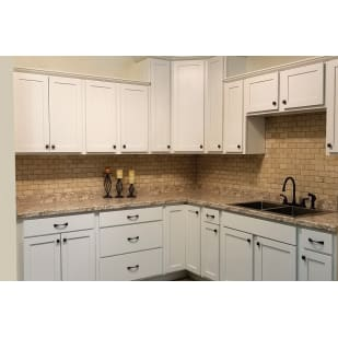 Smart Sheffield White Shaker Kitchen Cabinets