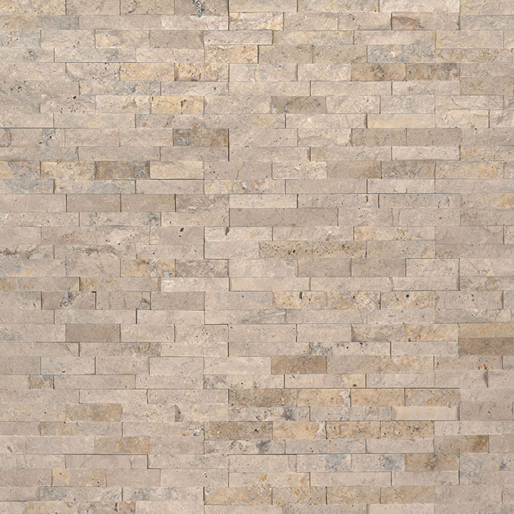 5536084 STIK Wall Tile Roman Beige Splitface Mosaic Tile
