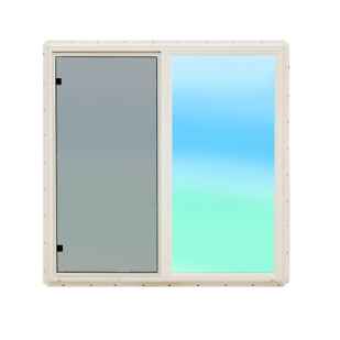 4550501 24x23 Vinyl Sliding Window