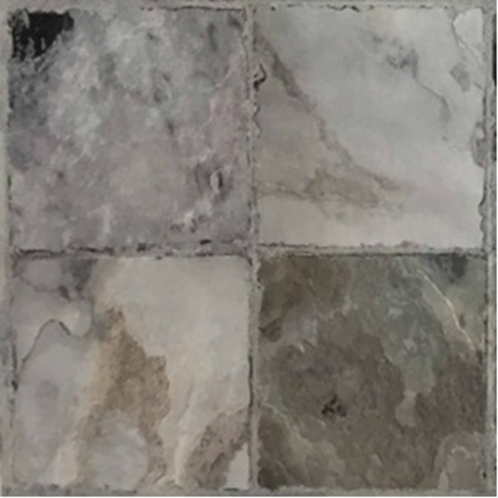 Self Stick Vinyl 12 X12 Cobblestone Gray Home Outlet