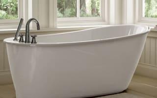 MAAX Freestanding Soaker Tub - White