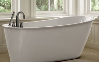 MAAX Freestanding Soaker Tub - White