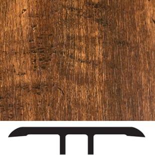 5556009 Luxury Vinyl Floor Transition Molding   Smoked Hickory