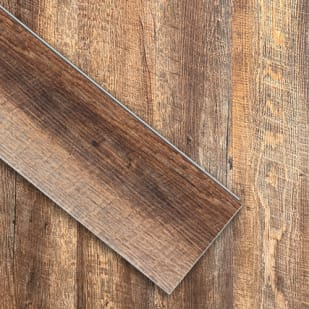 "6""x48"" Shark Oil Rubbed Oak Luxury Click Vinyl Plank"