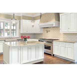 GHI Nantucket Linen White Kitchen Cabinets