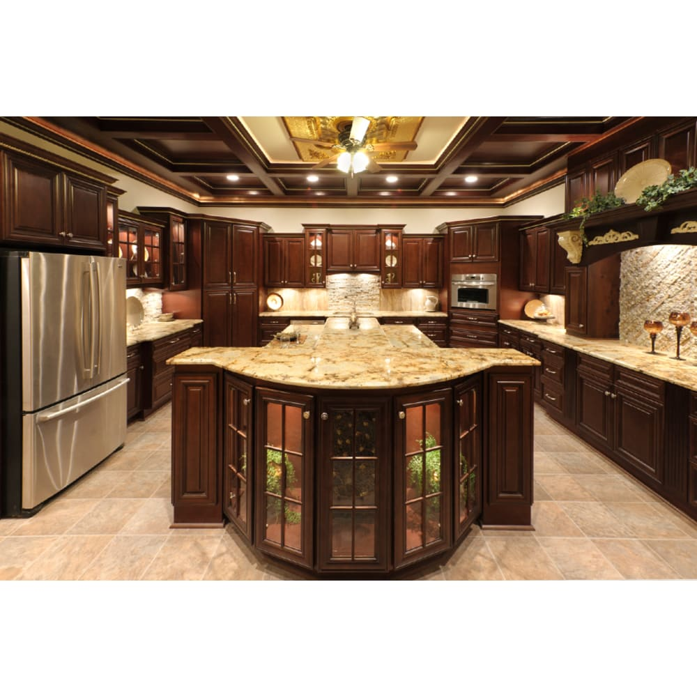 Faircrest Bristol Chocolate Cabinets
