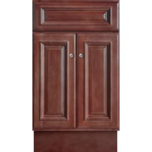 5024361 Savannah Merlot 18x16 Two Door Vanity base