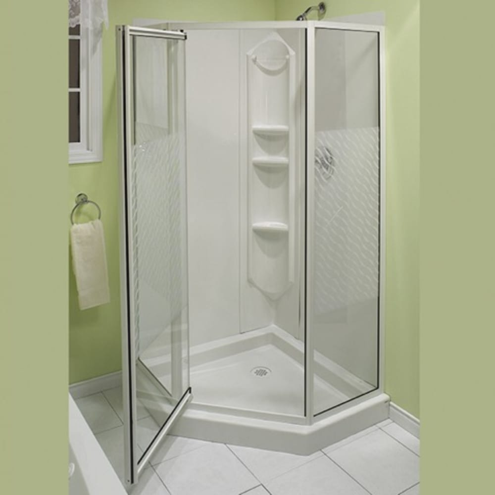 464880 Himalaya 38 Neoangle Shower  Chrome  by Maax