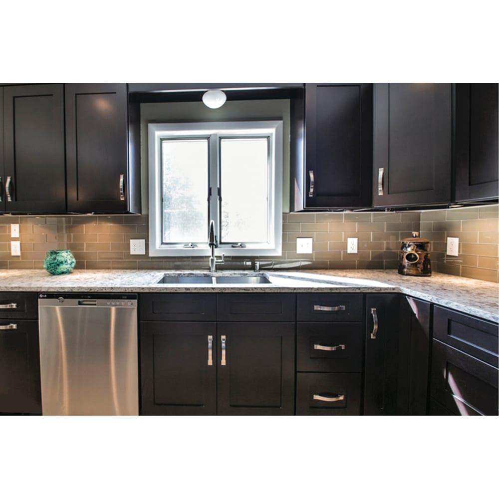 Kitchen Cabinet Lines: NEKC Durham Espresso Shaker Cabinets