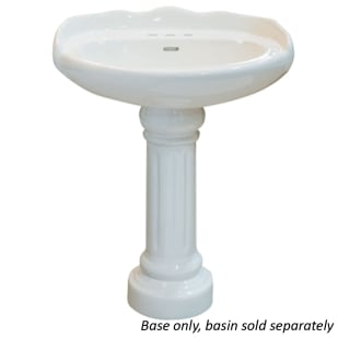 Chesapeake White Porcelain Sink Base