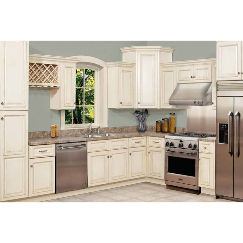 GHI Tuscany White Kitchen Cabinets