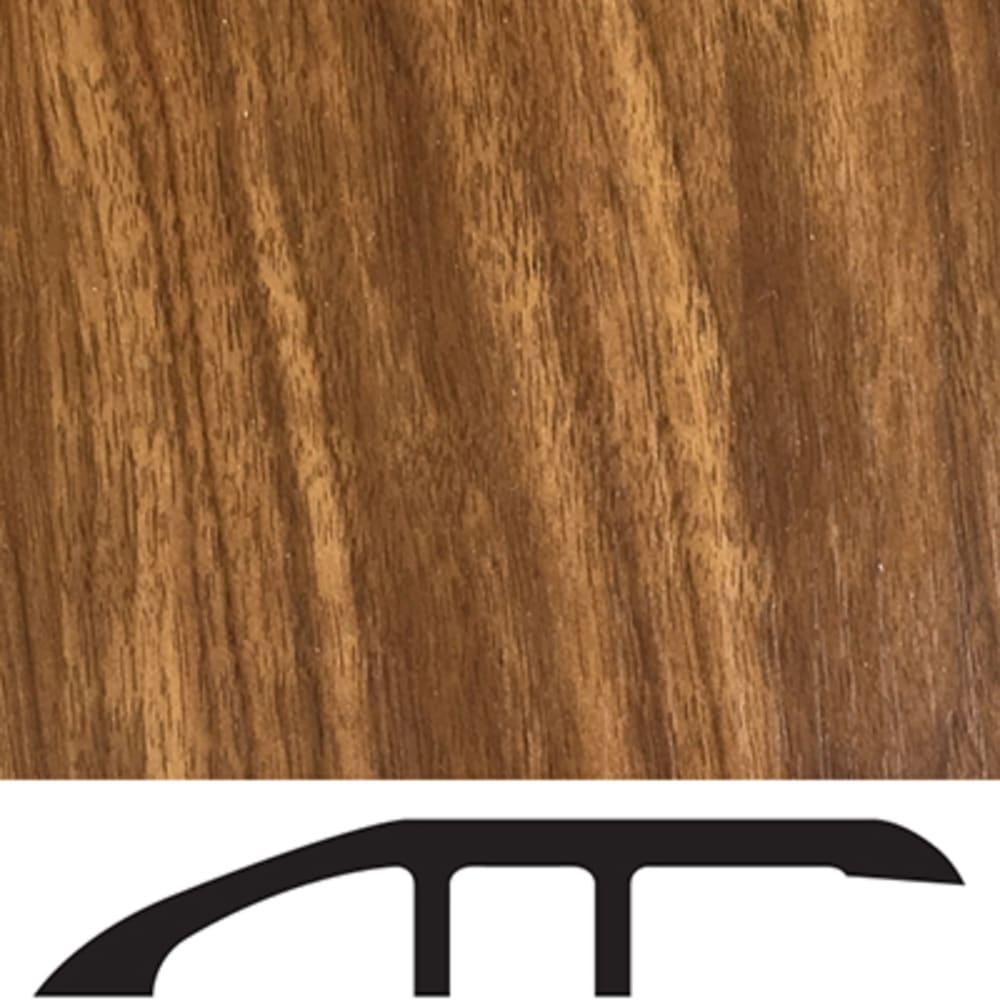 5556030 Luxury Vinyl Floor Reducer Molding   Auburn Hickory