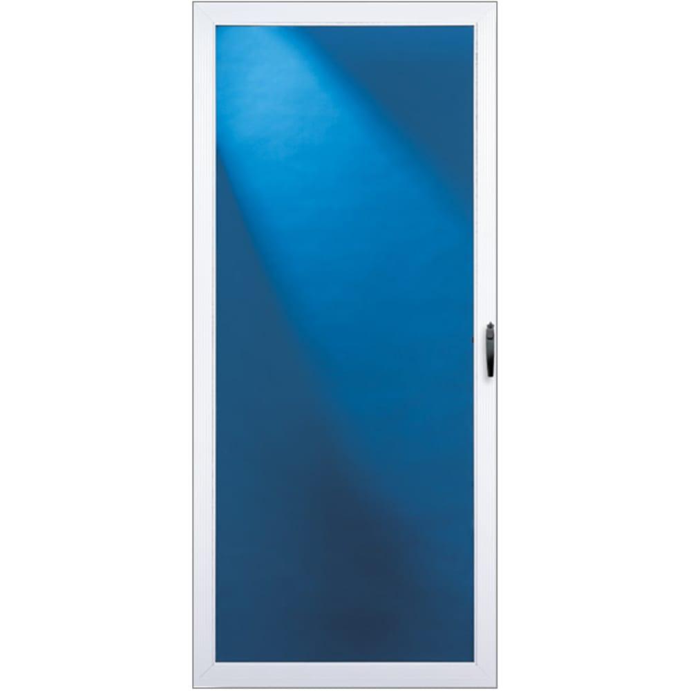 "36"" Full View Aluminum Storm Door"