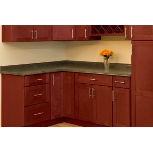 North Timber Newport Merlot Shaker Kitchen Cabinets