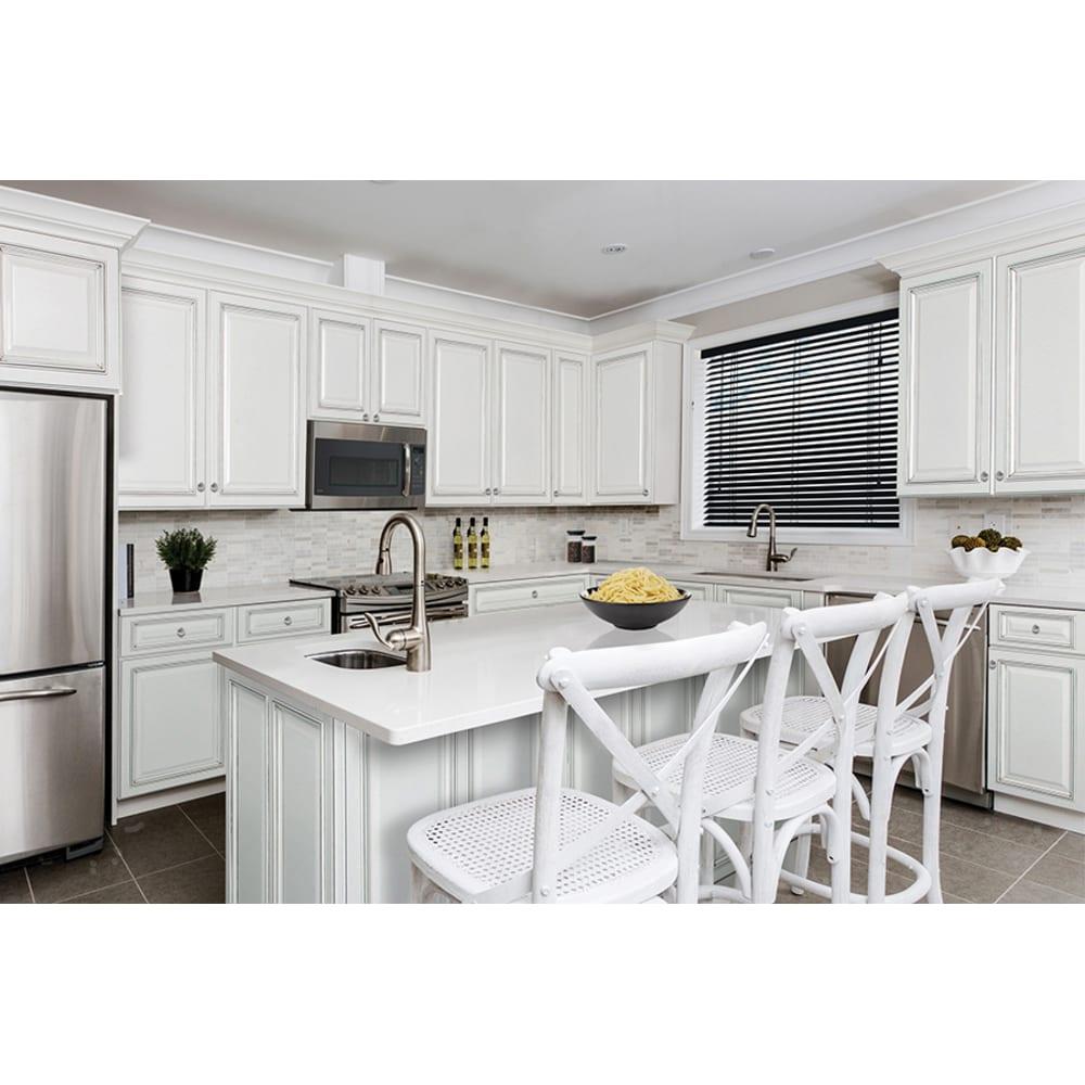 Sunnywood Riley White Kitchen Cabinets