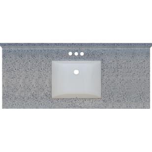 5020719 Moonscape 49x22 Engineered Stone Granite Finish Vanity Top